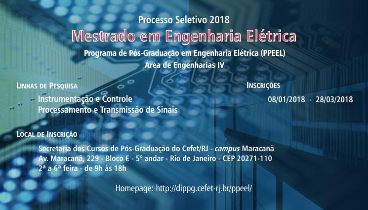 Processo seletivo para o mestrado em Engenharia Elétrica