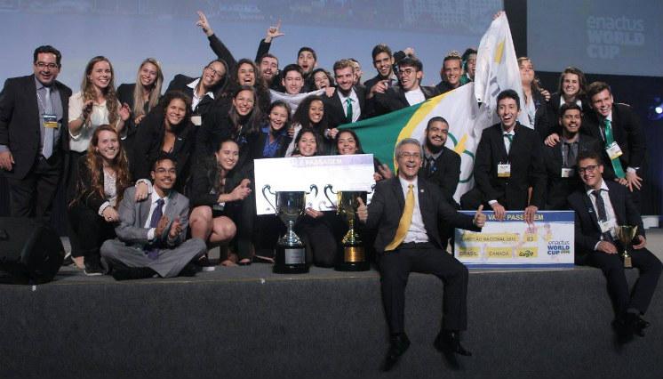 Enactus Cefet/RJ conquista prêmios nacionais