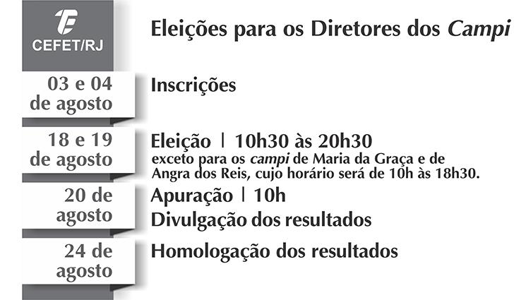 Direção-Geral deflagra processo de consulta para escolha de Diretor nos campi