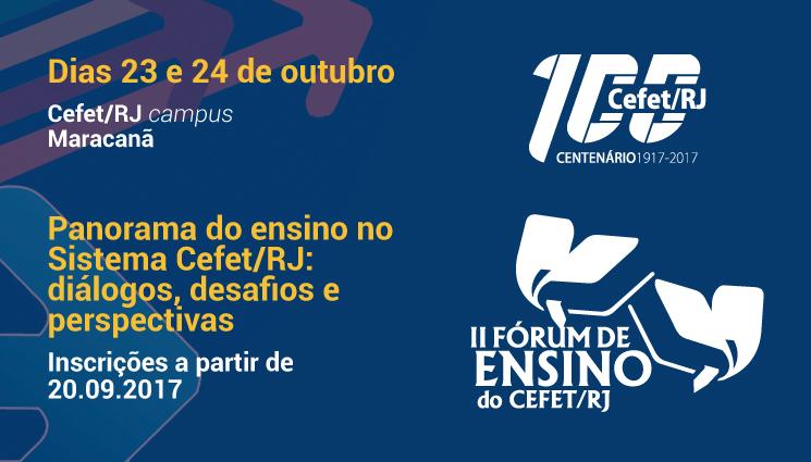 II Fórum de Ensino do Cefet/RJ