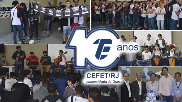 Cefet/RJ comemora 10 anos de inauguração do campus Maria da Graça